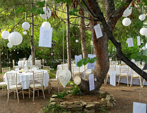 Wedding decorations Spain