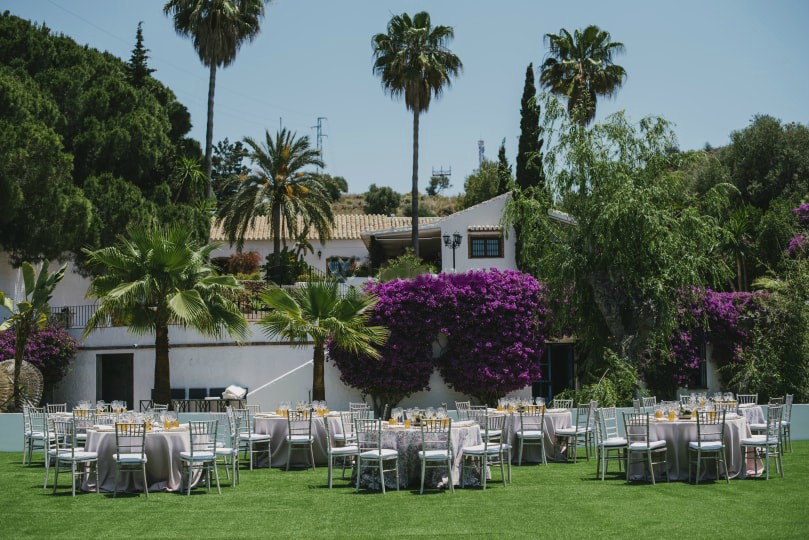 b villa wedding nerja