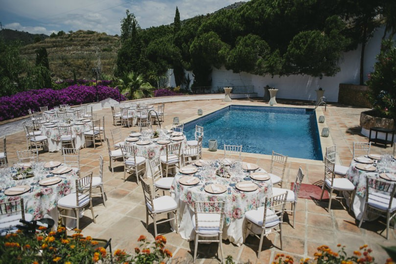 e villa wedding spain