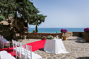 castillo wedding spain